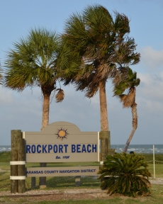 RockportBeachSignwithTrees